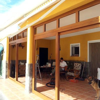 PVC Ecoven Plus Veka - Roble Dorado