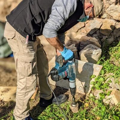 Trabajos instalación cebos termita
