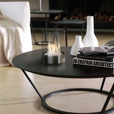 Quemador de bioetanol de centro de mesa sin olor, de diseño