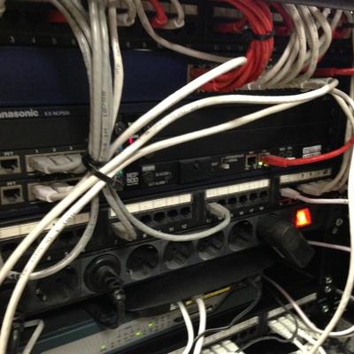 rack teleco