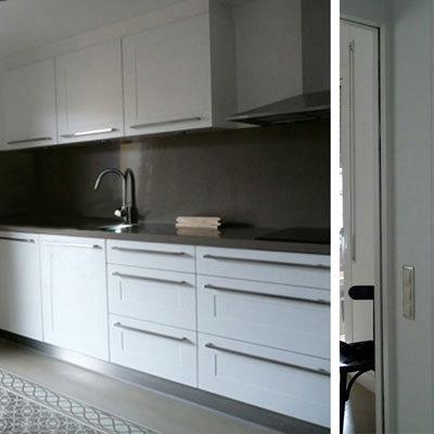 raddi ARQUITECTES Reforma de cocina en un piso del Eixample