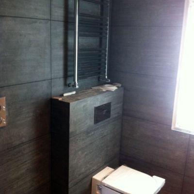 radiador toallero, inodoro suspendido