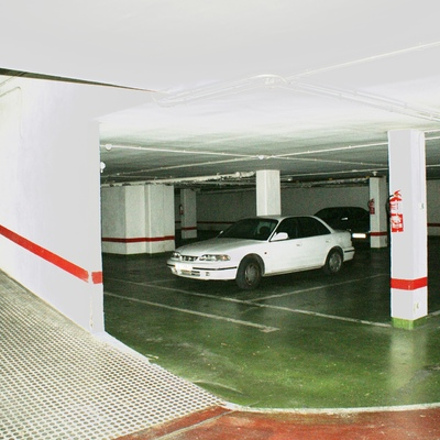 Rampa de acceso garaje