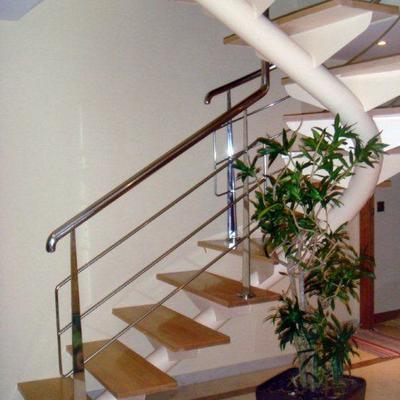Realización de escalera en duplex
