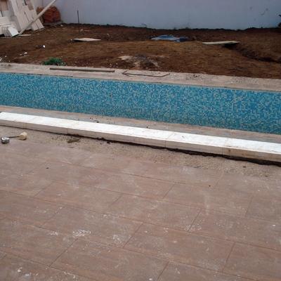 Realización de piscina