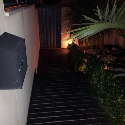 realizacion jardin ,riego automatico , iluminacion y colocacion tarima exterior