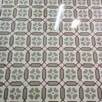 Pulido mosaico hidráulico.