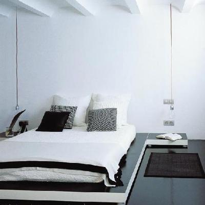 Reforma atico Bilbao (zona dormitorio)