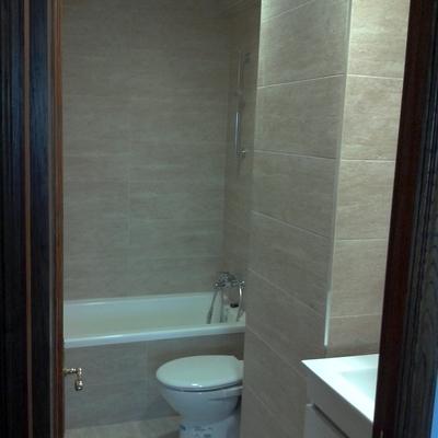 Reforma baño 2 acabado