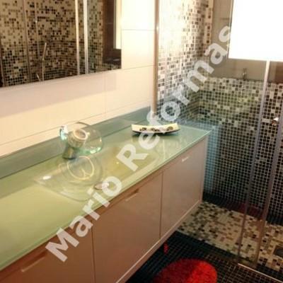 Reforma baño ducha de obra