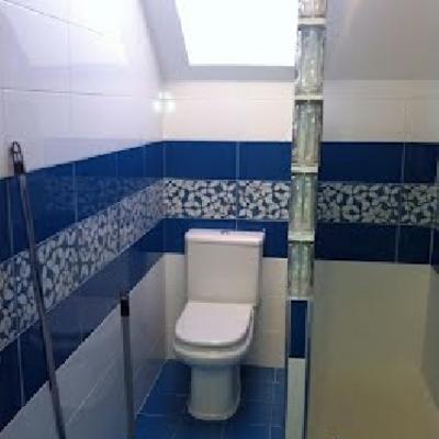 reforma baño en buardilla