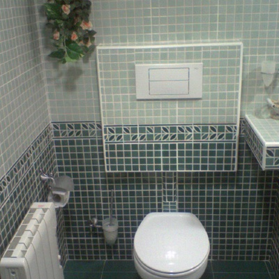 reforma baño piso