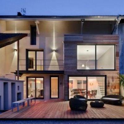 Construcción de casa minimalista