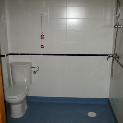 Reforma de baño habilitado para minsuvalido