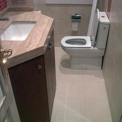 reforma de baño en Primo de Rivera nº 2, La Coruña.