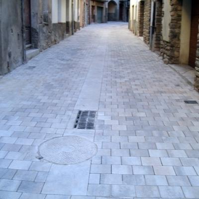 Reforma de calles peatonales y plazas.