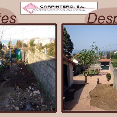 Reforma de entrada a vivienda en Vigo