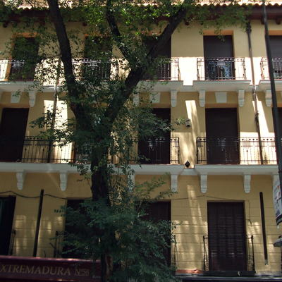 reforma de Fachada en C/ Paseo de Extremadura 58