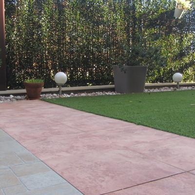Reforma de terraza - jardín en Navalcarnero