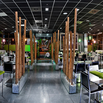 Reforma de restaurante wok en madrid. Wok Shanghai