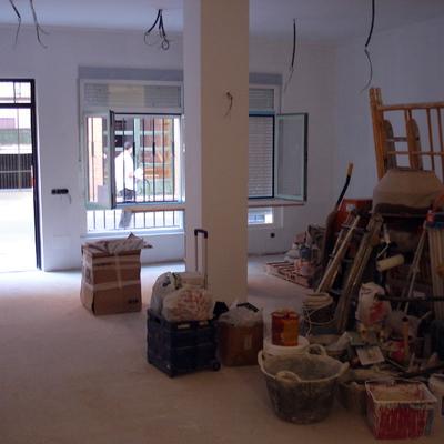 Reforma de un local con cambio de uso a vivienda