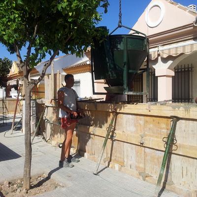 reforma de valla chalet en los alcazares murcia