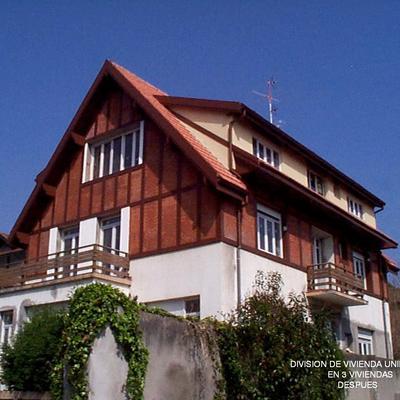Reforma de villa en Neguri para su conversión en viviendas.