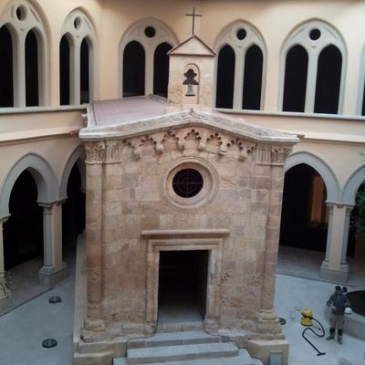 Reforma del seminario pontifice de tarragona.  (Tarraco)