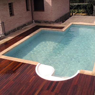 Reforma exterior, piscina