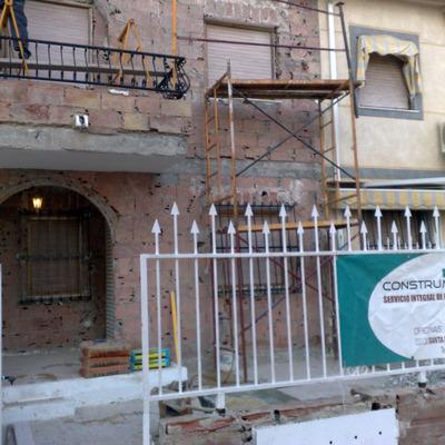 Reforma fachada 1