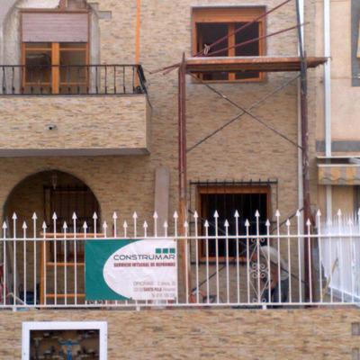 Reforma fachada 2