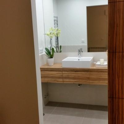 Reforma baño , mueble a medida