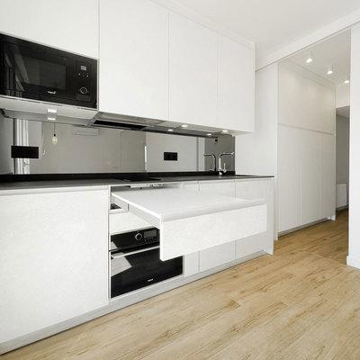 Mesa extensible en cocina