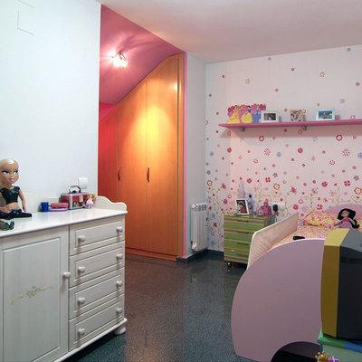 Reforma integral de vivienda: Dormitorio infantil