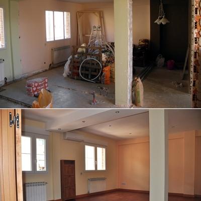 Año 2012. Reforma integral de vivienda realizada por Traber Obras. Madrid, barrio Latina.