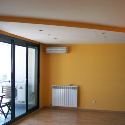 reforma integral habitacion,parket c4 y talla lisa