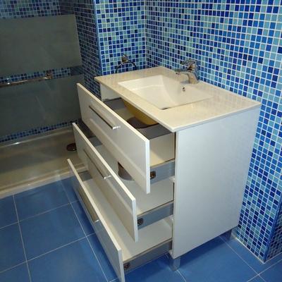 Reforma integral mobiliario de baño