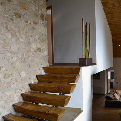 Reforma masia en la Garrotxa