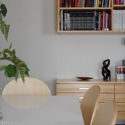 Reforma, mobiliario y decoración de apartamento.