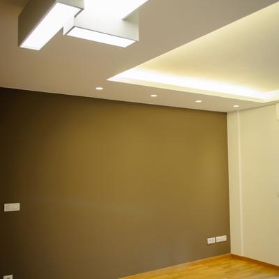Diseño de iluminación en salón