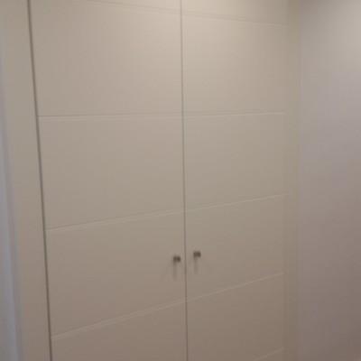 Puerta de armario a medida exterior