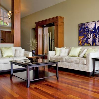 Reforma salon parquet y pintura