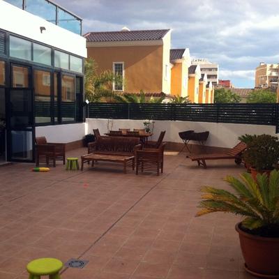 Reforma terraza, estado inicial