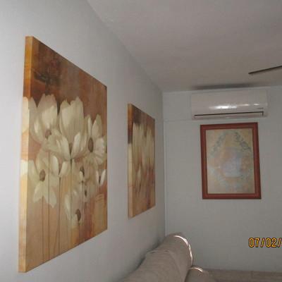 Rehabilitación y pintado de paramentos en vivienda unifamiliar
