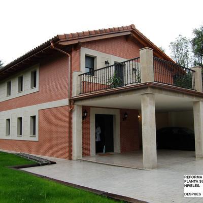Reforma y ampliacion de vivienda en El Abanico de Plencia.