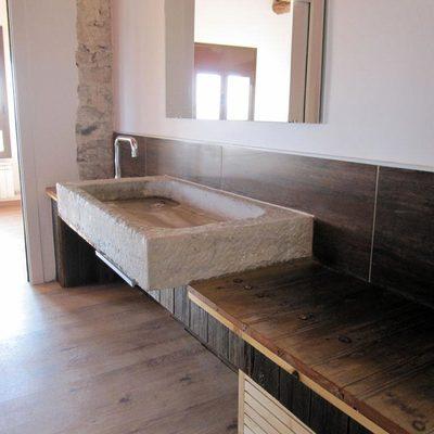 raddi ARQUITECTES Reforma y recuperación de pileta para baño en vivienda unifamiliar, Tarragona