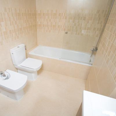 baños con bañera