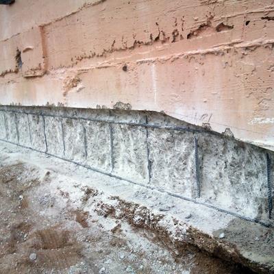 Refuerzo muro