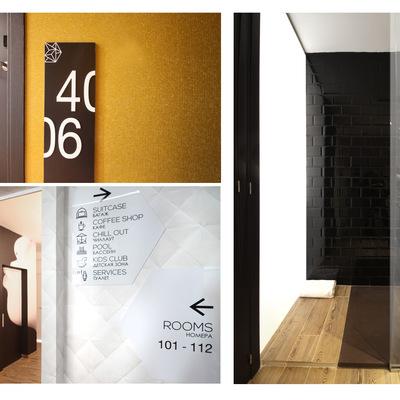 Proyecto de Hotel - interiores
