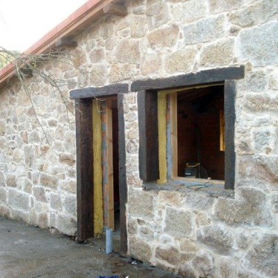 Rehabilitación de casa de piedra
